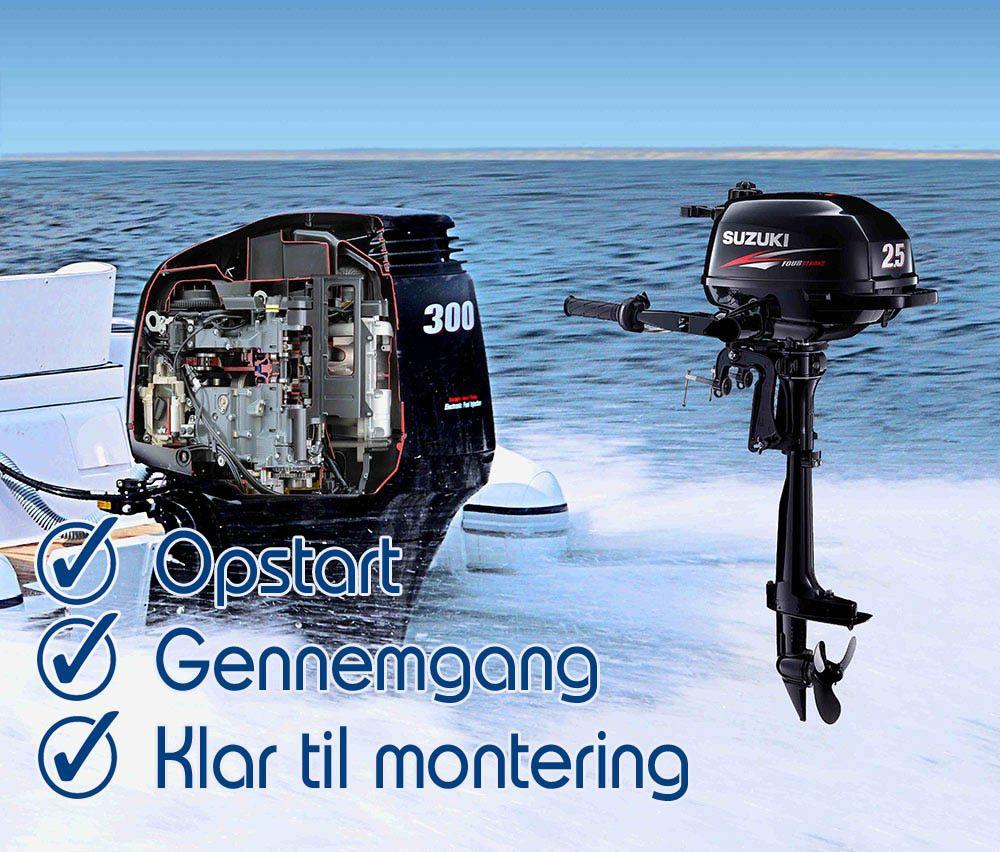 Påhængsmotorer der får din båd til at sejle som en drøm